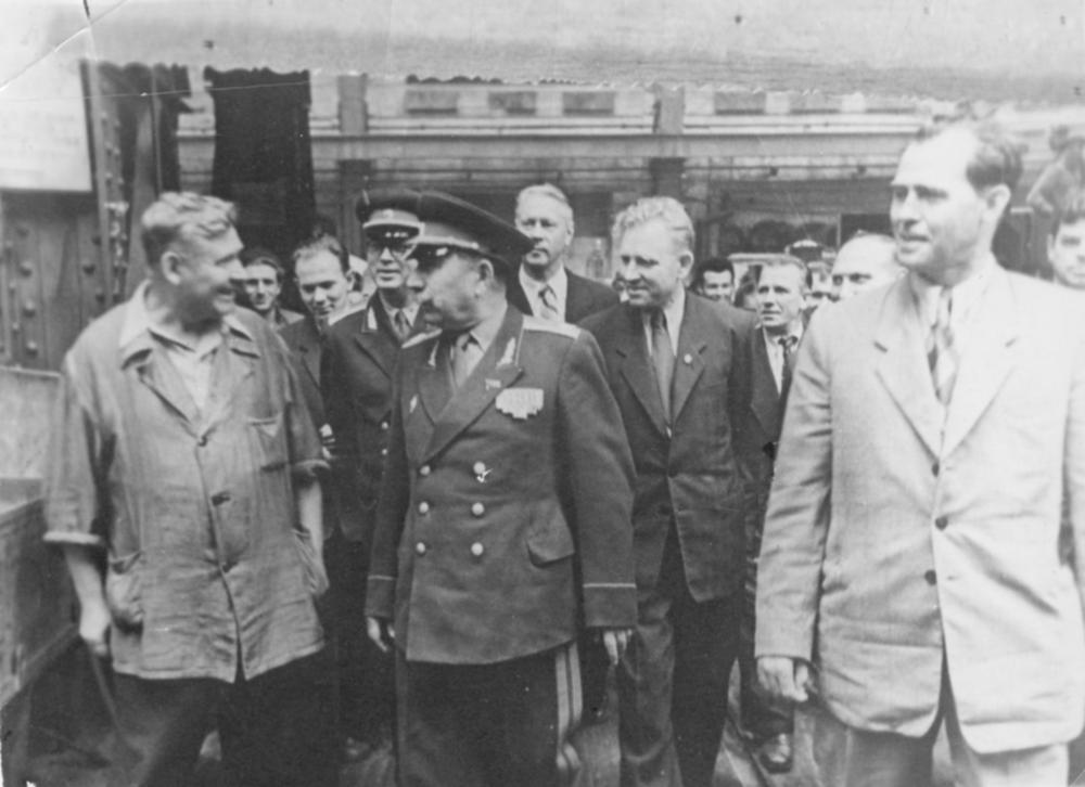 Маршал Буденный на «Электросиле». 1950 год
