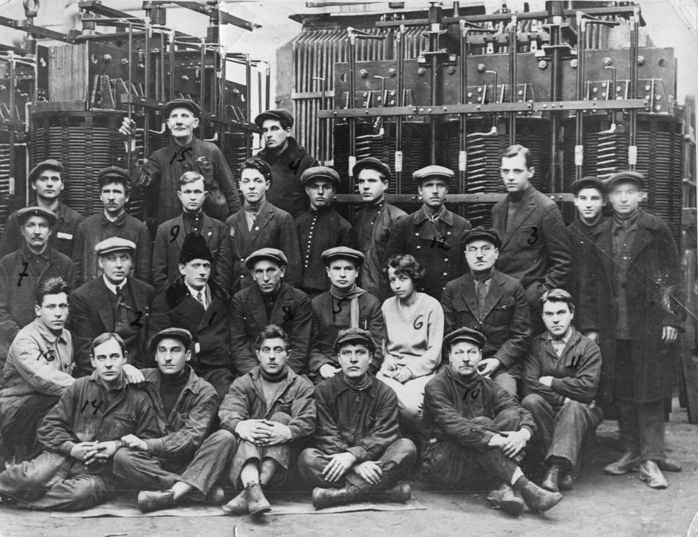 Создатели трансформаторов. Завод «Электросила». 1925 год